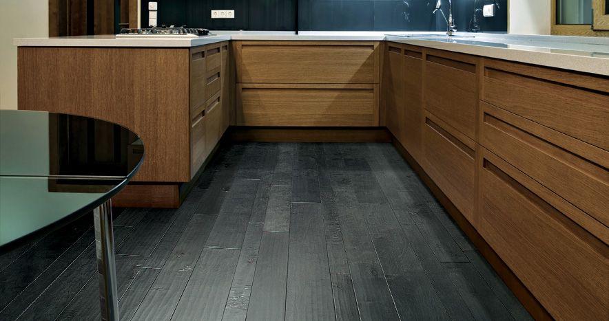 grey hardwood floors  Google Search  Kitchen Inspiration