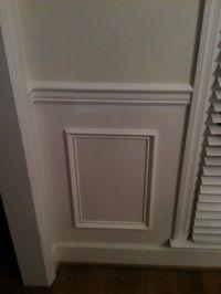 molding under chair rail | Home redecorating | Pinterest ...