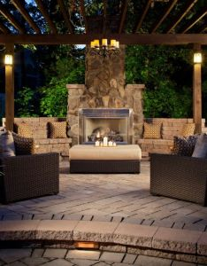 Backyard landscape design ideas to relax dine and play outside with family also rh pinterest