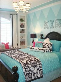 Cute and Cool Teenage Girl Bedroom Ideas | Teen, Bedrooms ...