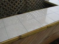 Ceramic Tile Outdoor Kitchen Countertop: QUESTION: I have ...