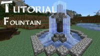 Minecraft Tutorial: How to build a small fountain ...