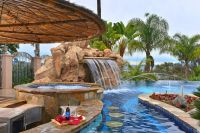 Tour a Deluxe Resort-Style Pool in La Mesa, Calif ...