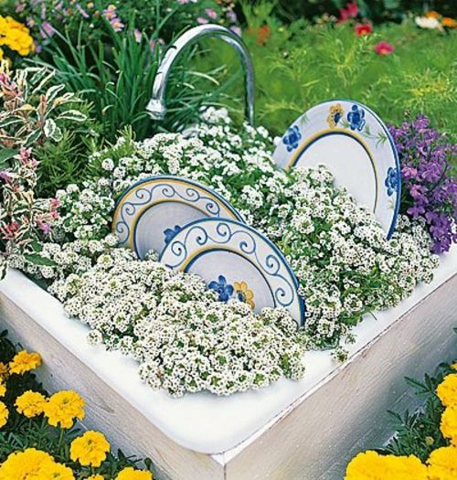 Gartendekoration selber machen  garten dekoration selber