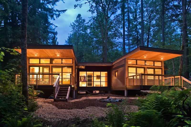 Method Homes Completes Traditional Craftsman Style Doe Bay Prefab