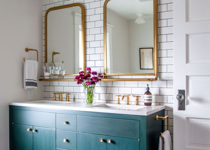 bathroom tiles shower vanity mirror faucets sanitaryware interiordesign also ways to warm up white walls tile and painted