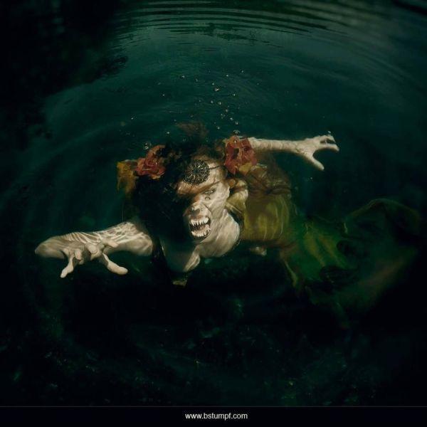 Evil Scary Mermaids