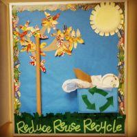 Reduce, Reuse, Recycle Bulletin Board | PE Bulletin Boards ...