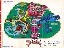 Euro Disneyland Paris Map
