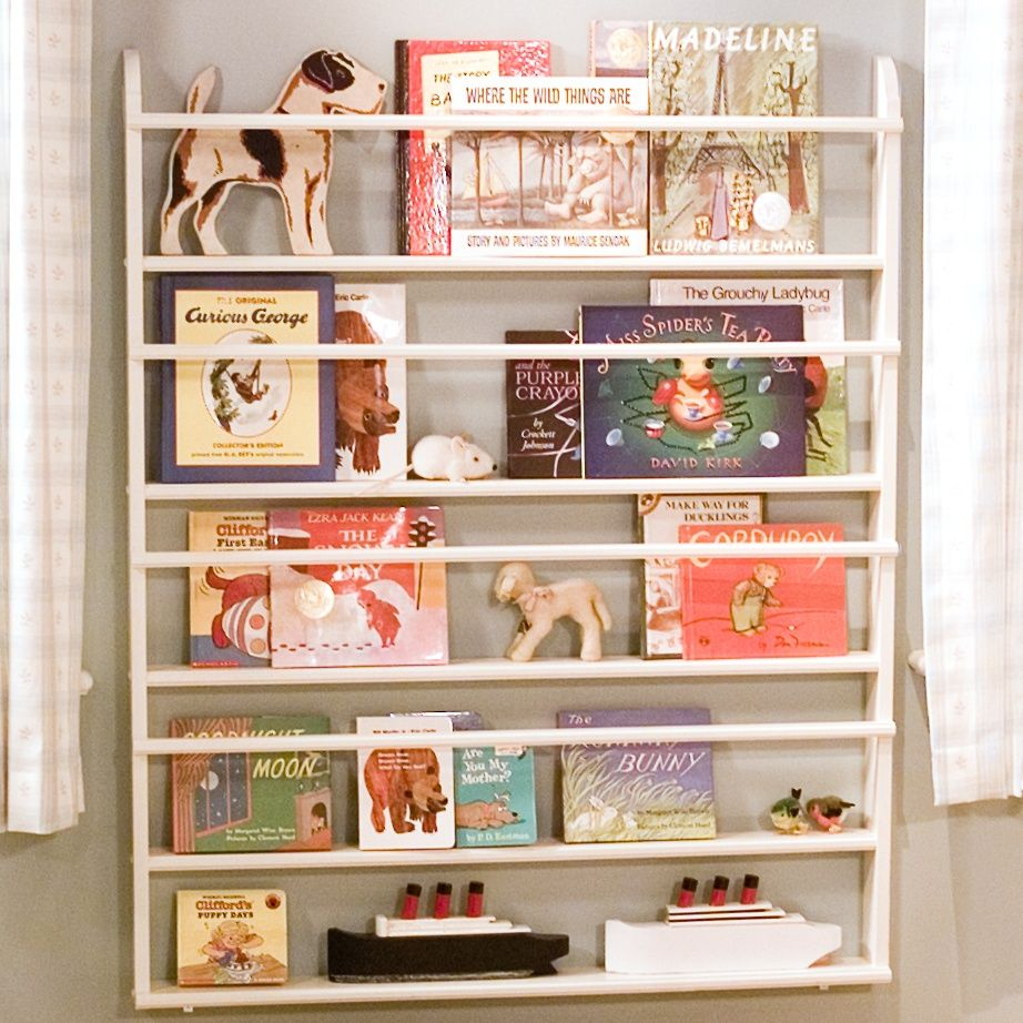 making children's bookshelves | martha stewart, playrooms and nursery
