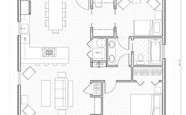 Small House Plans Under 1000 Sq Ft Homes Pinterest