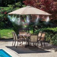 Outdoor Misting System Pool Mister Kit Air Cooler Deck ...