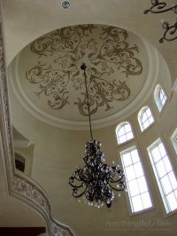 Hand Painted Dome | Decorative Painting and Plasters by ...