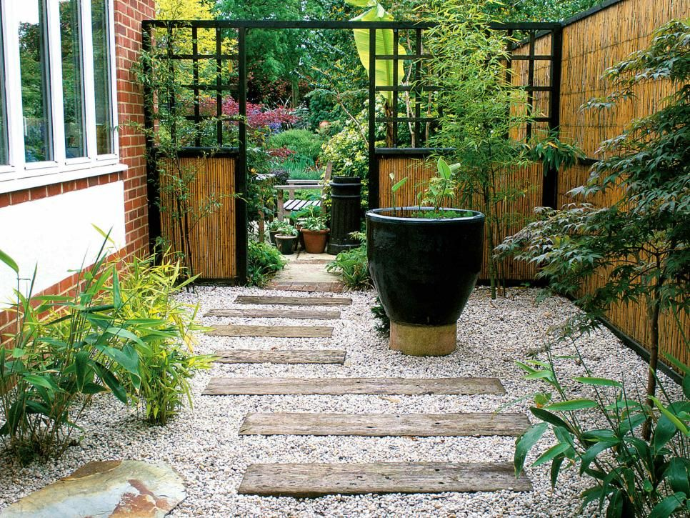 Landscaping Ideas For An L Shaped Garden Gardens Backyards And