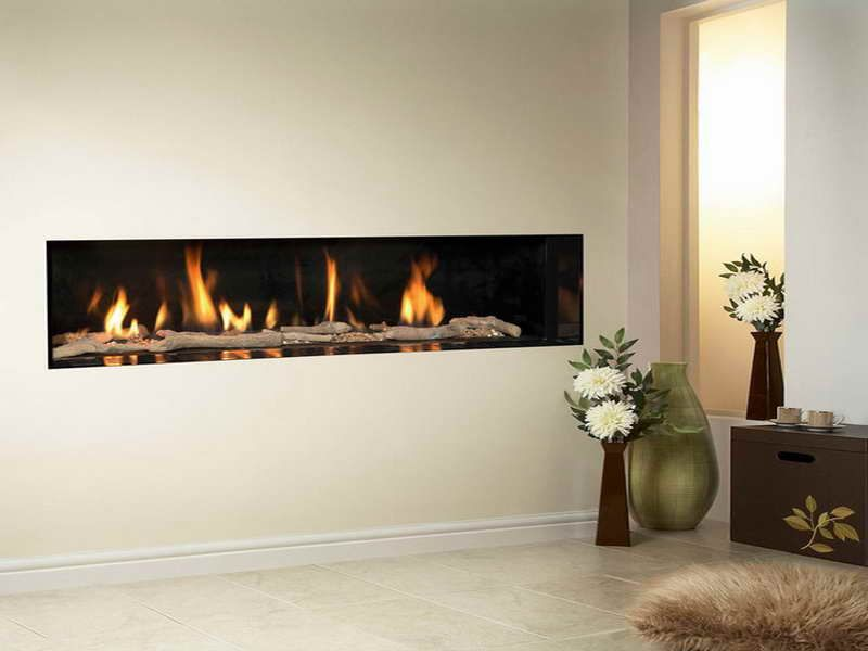 High Efficiency Gas Wall Fireplaces Modern ~ http