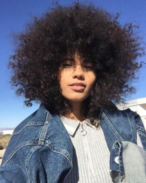 Image result for poofy hair
