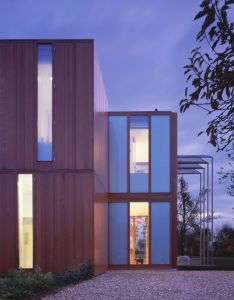 Gallery of house at pipers end niall mclaughlin architects modern home designmodern also rh pinterest