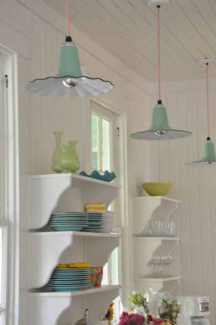 Cottage Lighting on Pinterest  Shabby Chic Lighting Kitchen Layout Plans and Shabby Chic