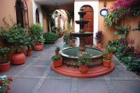 Mexican Patio | Outdoor patio | Pinterest | Casas ...