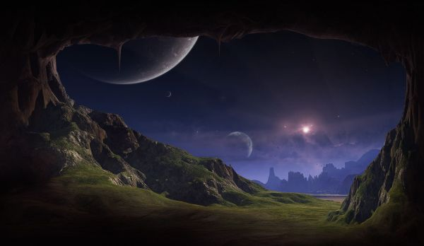 alien landscapes planets enjoy