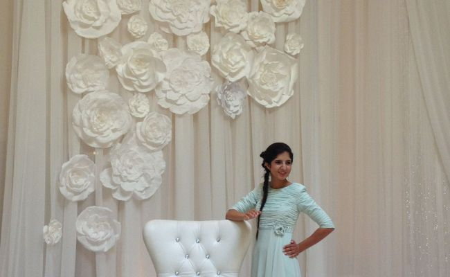 Flower Wall For Wedding By Maret Designs My Design