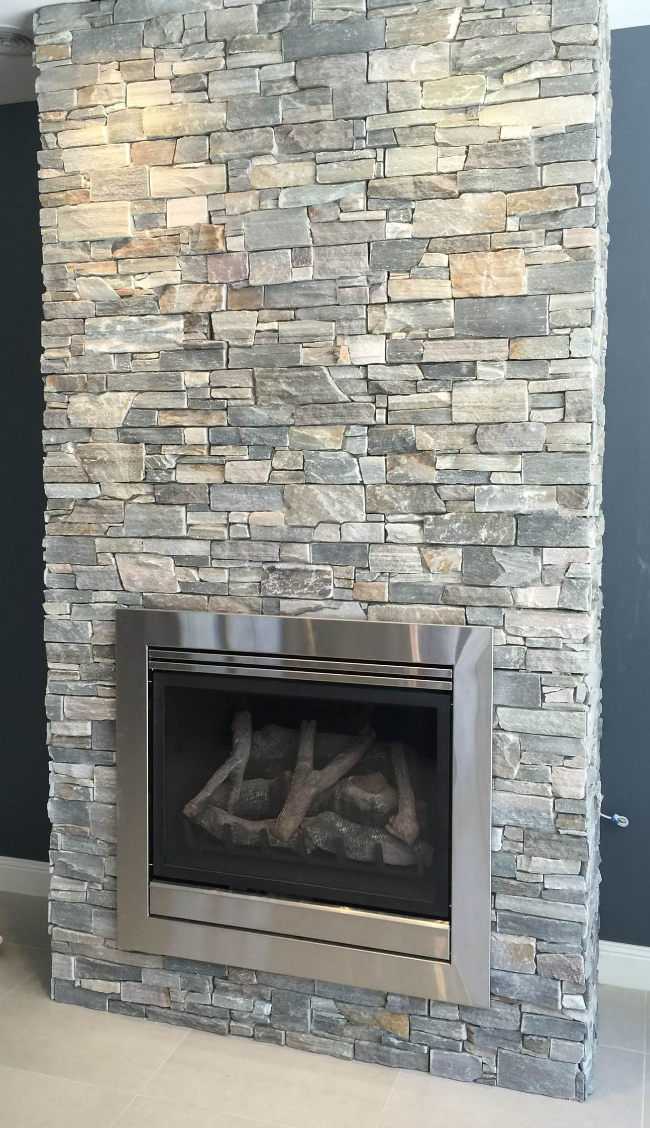 INTRODUCING OUR NEW COLOUR NORDIC IN LEDGE STONE  Ledge Stone Cladding  Pinterest  Cladding