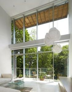 Urban ravine house toronto bortolotto design architect inc all rights reserved also image result for double height galss windows kitchen dining rh za pinterest