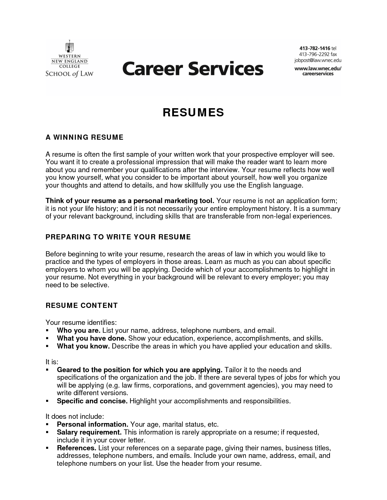Objective On Resume For College Student