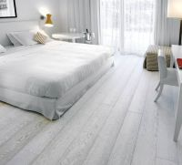 Bedroom Light Gray Wood Flooring | Bedroom | Pinterest ...