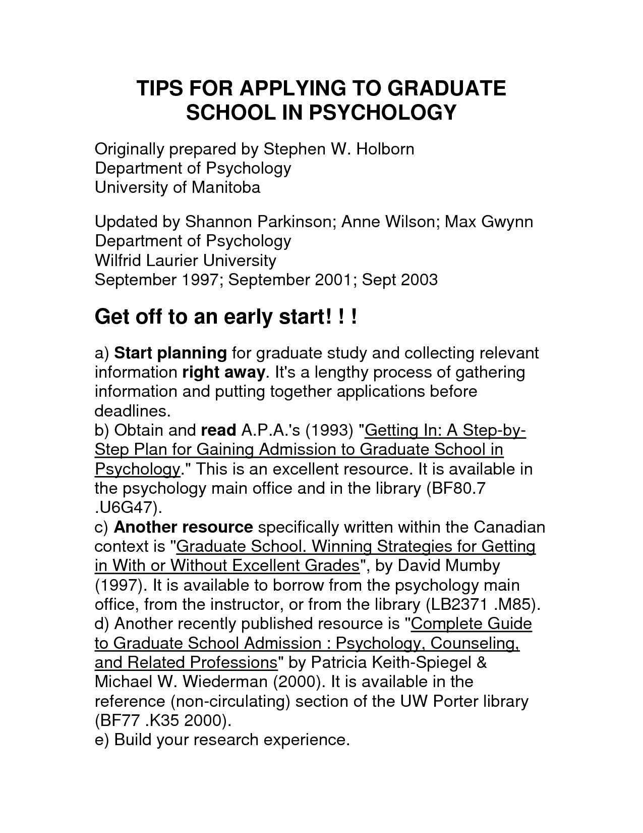 Graduate School Resume Psychology Graduate School Resume Http Www