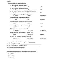 Magkatugmang Salita Worksheet   Printable Worksheets and Activities for  Teachers [ 1024 x 768 Pixel ]