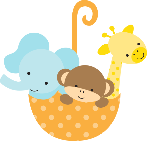 Baby Shower Animal Clip Art