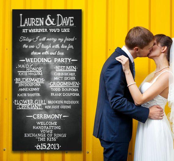 Die besten 25 Hochzeit programm zeichen Ideen auf Pinterest  Hochzeitsprogramm tafel