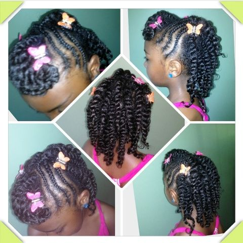 Braids Hairstyles For Kids Ages 10 12 African American For
