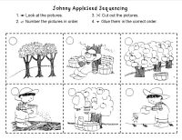 Johnny Appleseed Sequencing- made for 1st grade ...