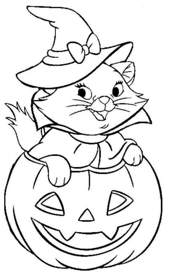 Best 25+ Halloween coloring pages printable ideas on