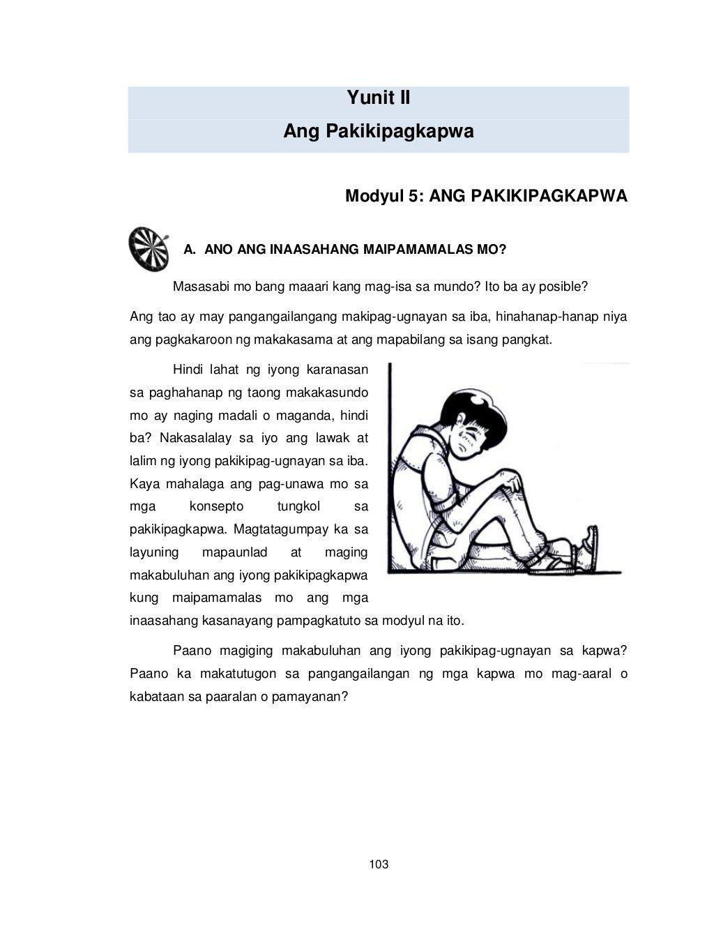 Grade 8 Learning Module Values Education Edukasyon Sa Pagpapakatao