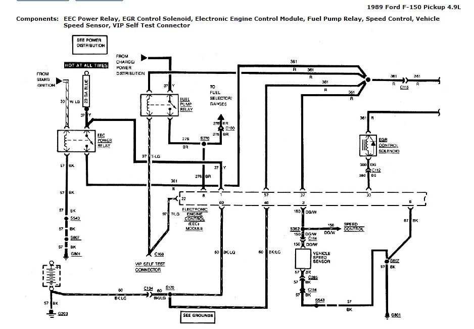1989 F150 Fuel Pump Wiring Diagram : 34 Wiring Diagram