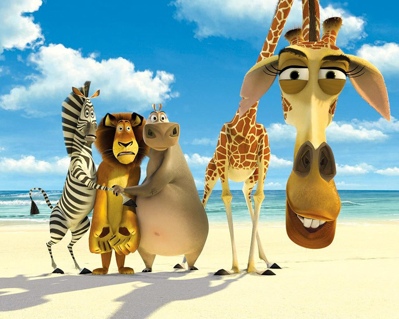 20 blue carton wallpapers for kids   madagascar, dreamworks and movie