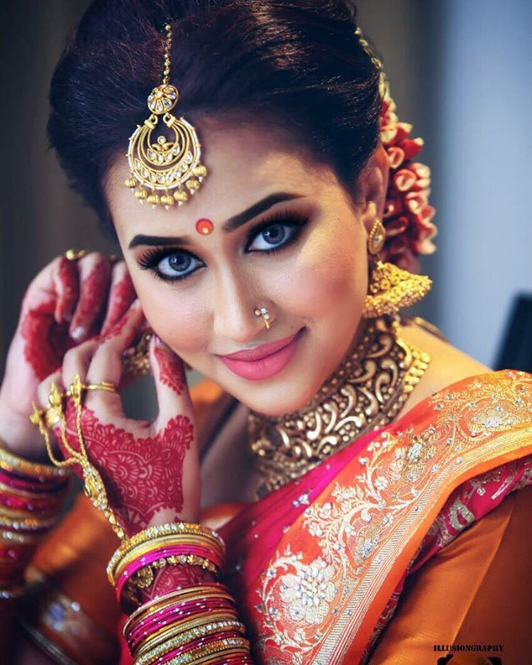 South Indian BrideGold Indian Bridal JewelryTemple