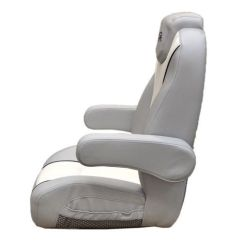 Boat Captains Chair 18 Inch Doll Table And Chairs Top Pinterest Boats Buy Larson 14 Lsr White Gray Reclining Seat W Logo At Online Store