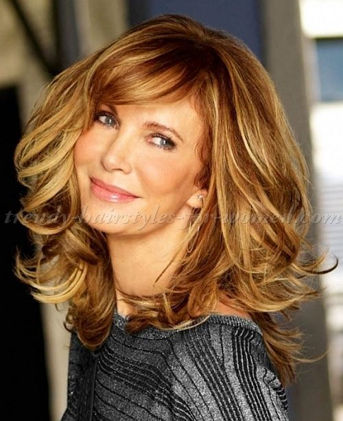 Long Hairstyles Over 50 Jaclyn Smith Long Layered Haircut Hair