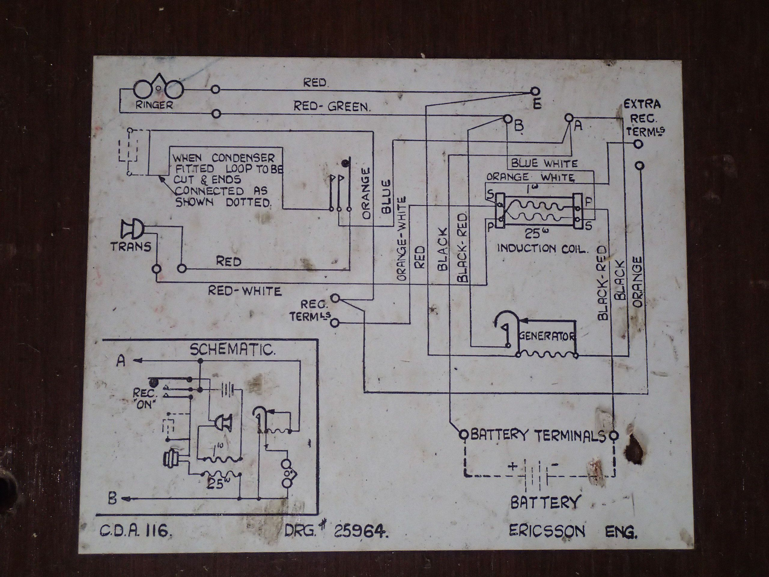 Figure 1 The Basic Wall Phone Diagram Of A Magneto Circuit