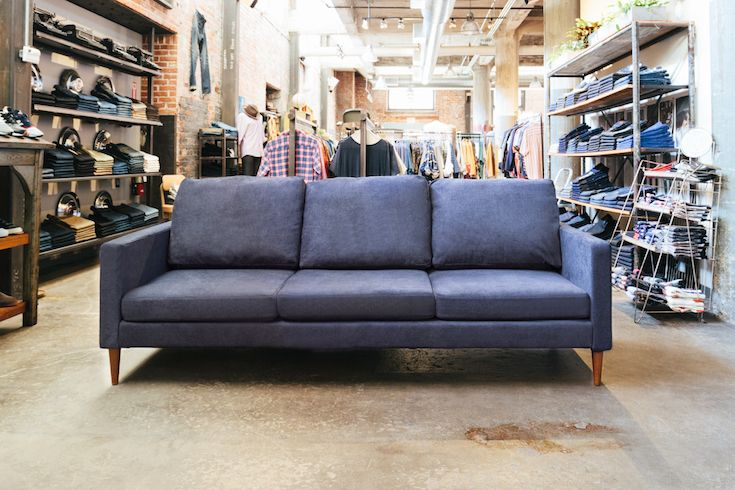 cheap sofas portland oregon costco canada our modern yet classic sofa in the showroom of lizard lounge