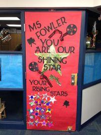Teacher Appreciation Week Door Decoration Movie Star Theme ...