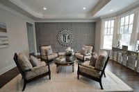 Traditional Living Room with Shiloh Spool Chair, Crown ...