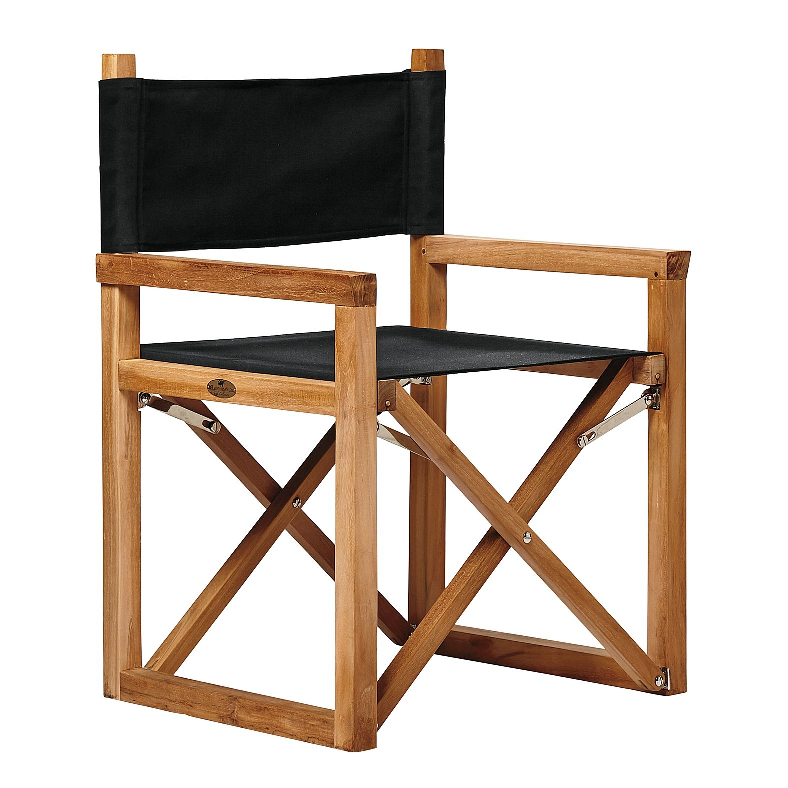 Directors Chair Canvas Easy To Store Easy To Transport Directors Chair Black