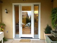 Exceptional Patio French Doors With Sidelights #8 Single ...
