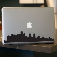 Philadelphia skyline decal | Philadelphia Shopping ...