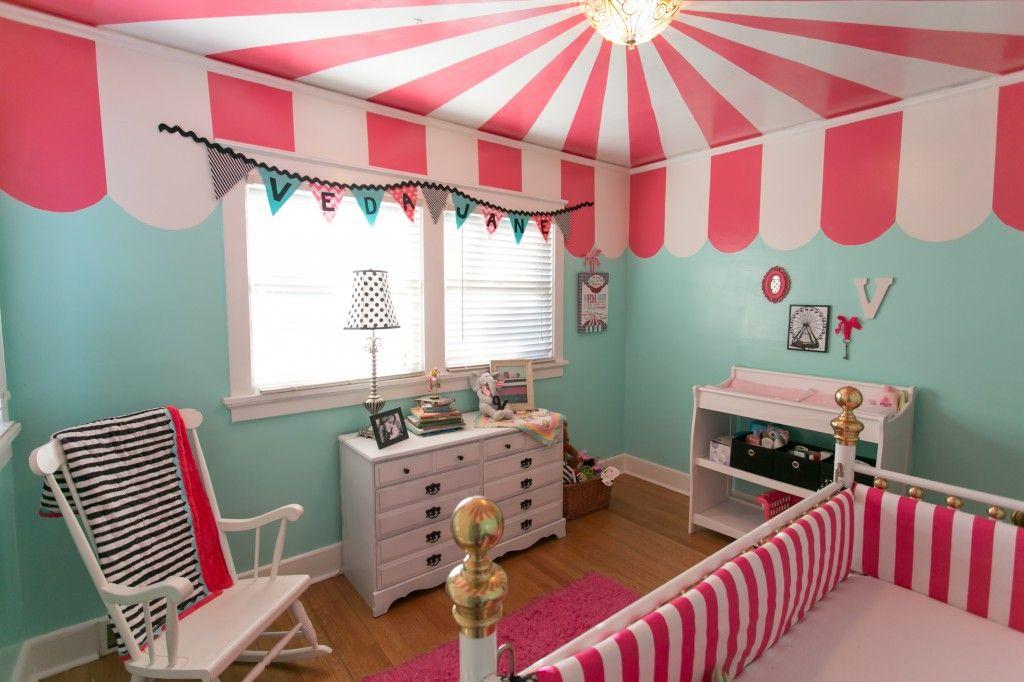 Circus Room On Pinterest Circus Nursery Vintage Circus